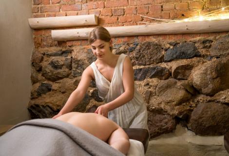 Atpalaiduojantis viso kūno masažas