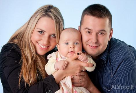 """Fotosesija """"Mažoji šeima"""""""