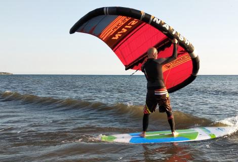 THE WING SURFER pramoga Baltijos jūroje