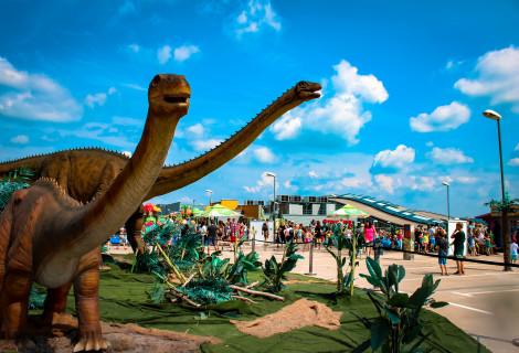 Paskutinis apsilankymas DINOZAURŲ parke Dino.lt Ozas!