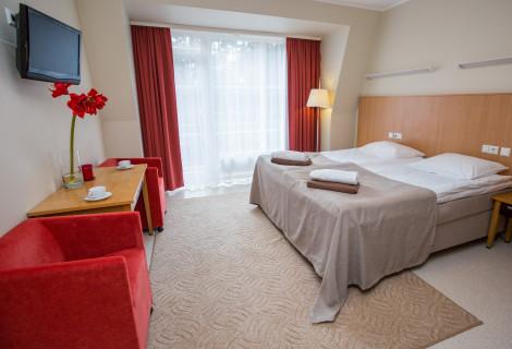 2 nakvynės Royal SPA Residence viešbutyje Birštone dviem