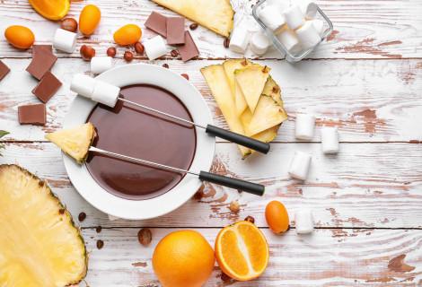 Šokolado fondiu Kaune