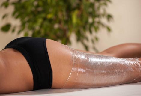 Anticeliulitinis viso kūno įvyniojimas ir limfodrenažinis masažas