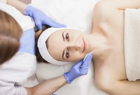 Procedūrų kompleksas probleminei veido odai