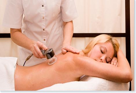 Vakuuminis nugaros masažas