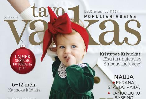 """Žurnalo """"TAVO VAIKAS"""" prenumerata"""