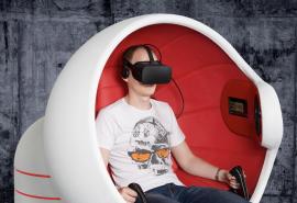 """Virtualios realybės pramoga """"Flyer"""" dviem"""