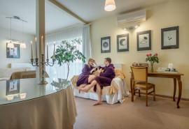 """Nakvynė viešbutyje """"Romantic"""" + apsilankymas baseino ir pirčių komplekse"""