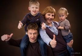 """Fotosesija """"Didžioji šeima"""""""