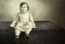 Portretas, pieštas iš nuotraukos