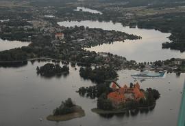 Nepakartojamas skrydis virš Trakų pilies (20 min.)