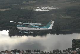 Įspūdingas skrydis virš Aukštaitijos nacionalinio parko