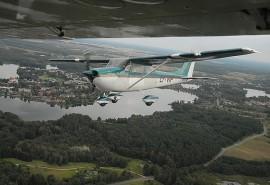Vaizdingas skrydis virš Labanoro regioninio parko ežerų