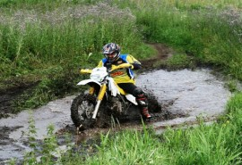 """Įvadinė """"Kick startas"""" programa Enduro motociklu"""