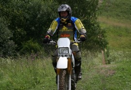Pasivažinėjimas ENDURO motociklu