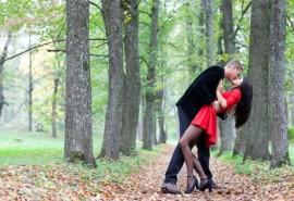 Romantiška fotosesija dviems