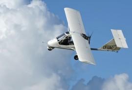 Įsimintinas skrydis dviviečiu orlaiviu