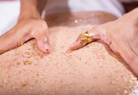 """Prabangus SPA masažų kompleksas su šveitimu """"Aukso prisilietimas"""""""