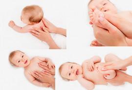 Pasirinktas kūdikių ir vaikų masažas (10 kartų)