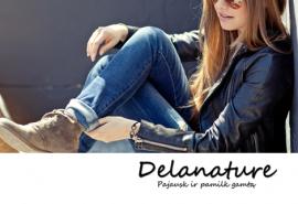 """Medinių papuošalų ir namų aksesuarų """"Delanature"""" dovanų čekis"""