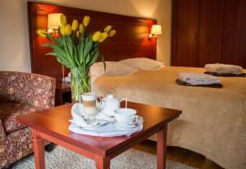 2 nakvynės jaukiame Royal SPA Residence viešbutyje Birštone dviem