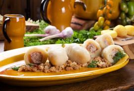 Lietuvių virtuvės patiekalų degustacija Trakuose