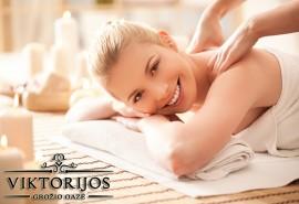 Atpalaiduojantis ir tonizuojantis aromatinis nugaros ir kaklo masažas