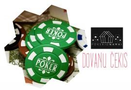 """""""Pokerio namai"""" dovanų čekis (14,48 Eur)"""