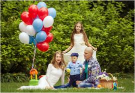 Įspūdžių kupina šeimos fotosesija