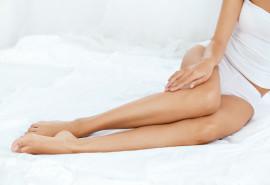 Pilna, dalinė kojų depiliacija arba depiliacijos paketas