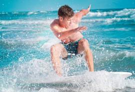 Išbandyk čiuožimą slydlente Baltijos jūroje