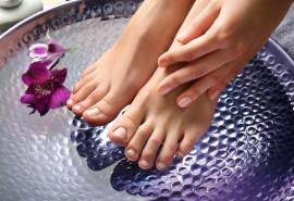 Persikų arba levandų parafino vonelė kojoms arba rankoms