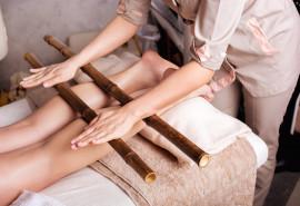 SPA ritualas kūnui ir veidui su bambuko lazdelėmis
