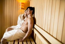 Infraraudonųjų spindulių pirtelės ir viso kūno masažo malonumai dviem