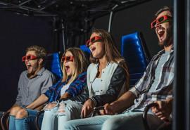5D kino bilietas grupei