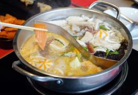 Lašišos gaminimo ritualas Shabu-shabu