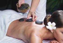 Aromaterapinis karštų akmenų masažas