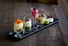 """Prancūziškų desertų degustacija """"Haute Couture"""" II dviem"""