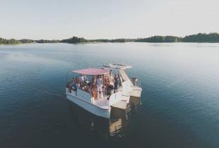 Pramoginis-apžvalginis plaukimas Galvės ežere