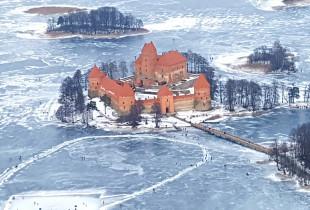 Nepakartojamas skrydis virš Trakų pilies (30 min.)