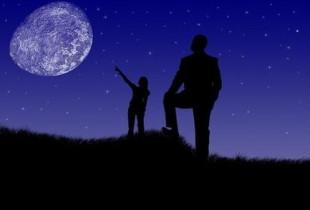 Romantiškas žvaigždžių stebėjimas
