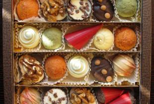 """""""Šokoladinės"""" desertų rinkinys Nr. 2 į Jūsų namus!"""