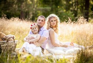 Įsimintina šeimos fotosesija
