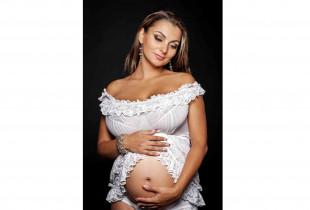 Nuostabi nėštukės fotosesija