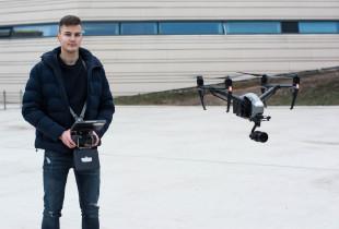 Įžanginė praktinė DRONO valdymo pamoka