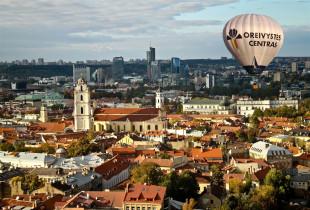 Skrydis oro balionu Vilniuje, Kaune arba Trakuose