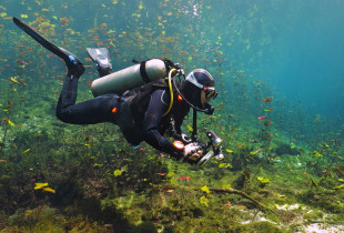 Pažintinis nėrimas Galvės ežere Trakuose
