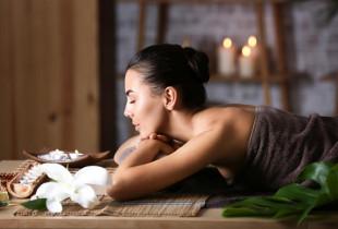 """Ypatingas aromaterapinis masažas """"Triple V for good vibes"""""""