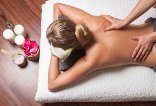 Aksominė spanguolių kaukė kūnui + viso kūno masažas