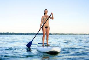 Plaukiojimas irklentėmis Baltijos jūroje arba Šventosios upe